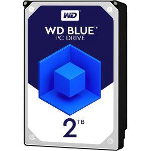 هارد اینترنال وسترن دیجیتال BLUE 2TB