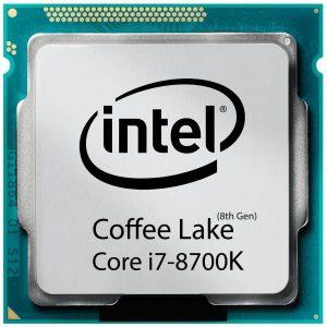 سی پی یو Core i7-8700K
