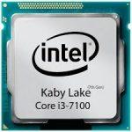 سی پی یو Core i3-7100