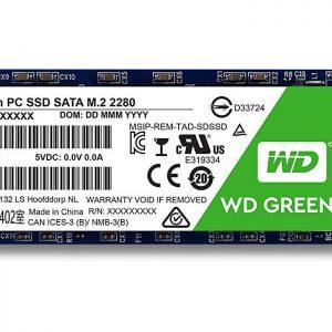 اس اس دی وسترن دیجیتال green m2 120GB