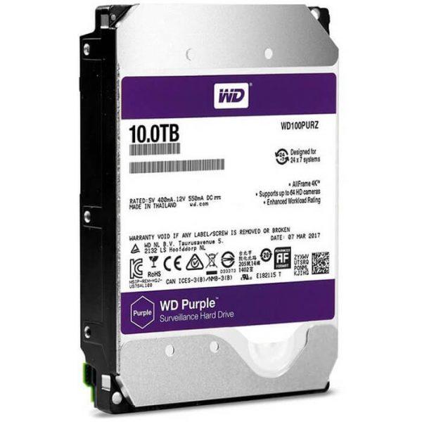 هارد وسترن Purple WD101PURZ ظرفیت10