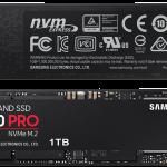 اس اس دی سامسونگ 970 PRO 1TB