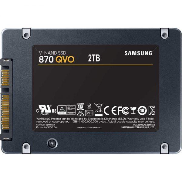 SSD سامسونگ 870 QVO ظرفیت 2ترابایت